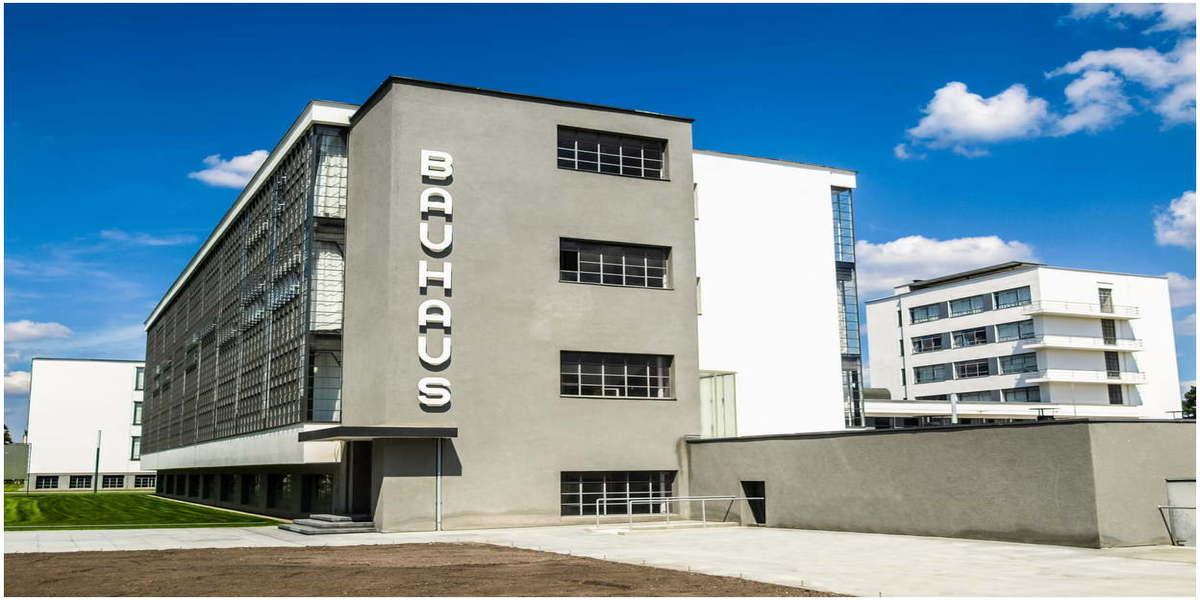 architecture moderne eln Allemagne BAUHUS
