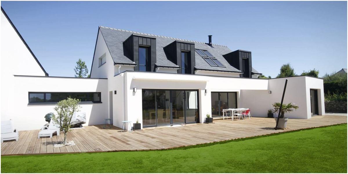 maison en bretagne avec architecture modrene